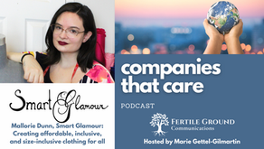 Mallorie Dunn, Smart Glamour: Creating affordable, inclusive, and size-inclusive clothing for all