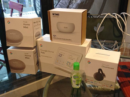 Smart Home - Ok Google, are you listening?