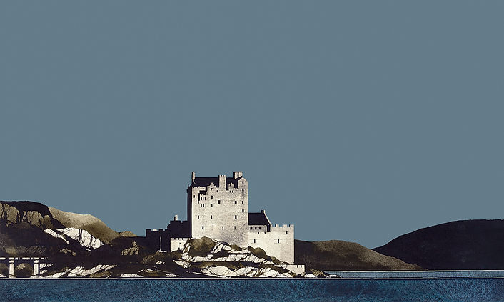 Eilean Donnan Castle Loch Duich 1 12x20.jpg