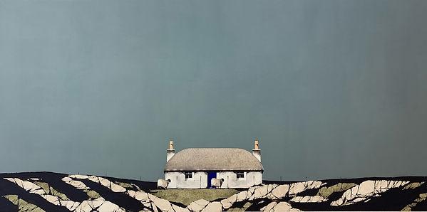 35 - Hebridean Blue Door Cottage 14 x 28