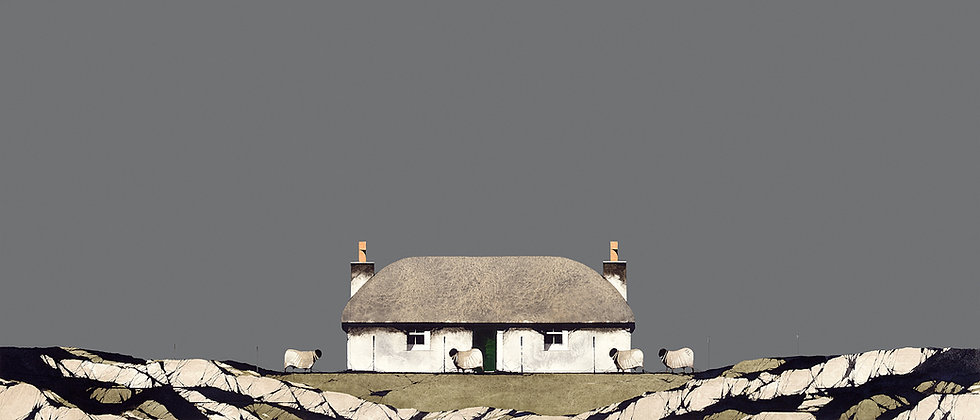 North Uist Thatched Cottage