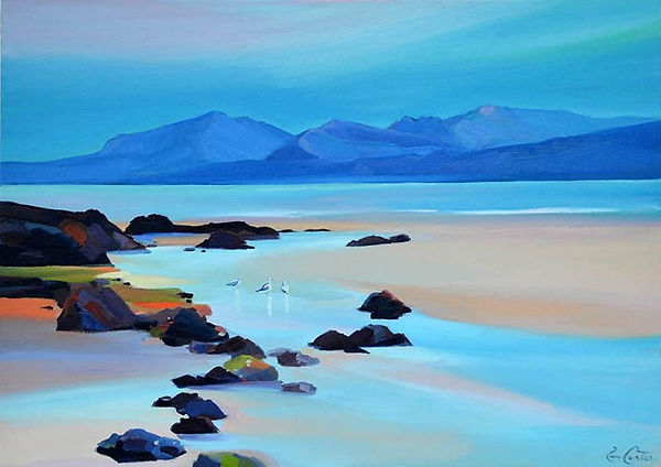 PAM_CARTER_-_STREAM_TO_ARRAN_10_x_12_£19