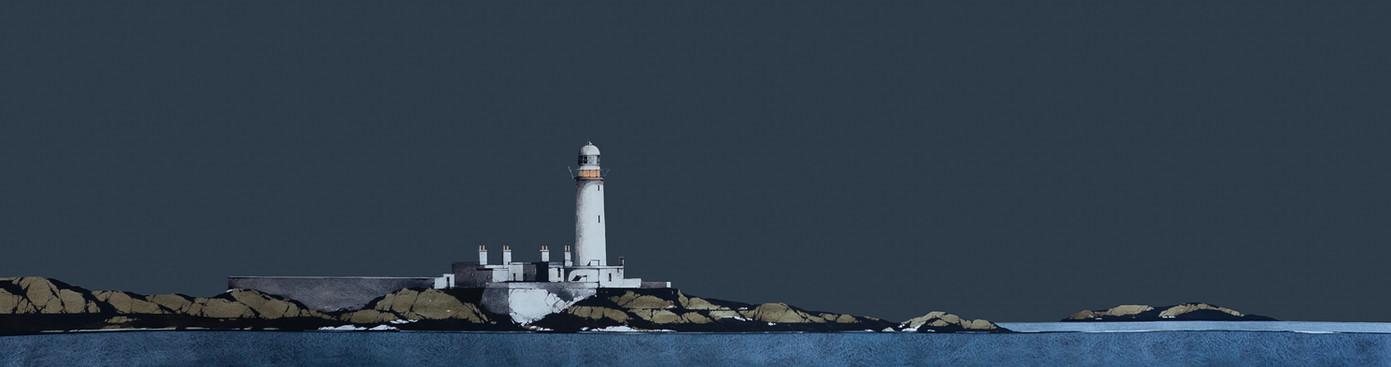 Eilean Musdile Lighthouse, Lismore 13x50