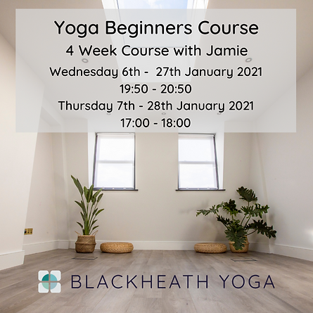 Beginners Course January 2021