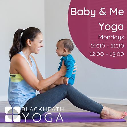 Baby & Me Yoga 2021
