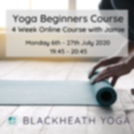 Beginners Course July 2020
