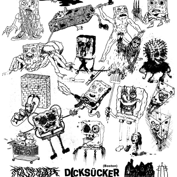 FLYER FOR BOSTON GAYGRIND BAND, DICKSUCKER