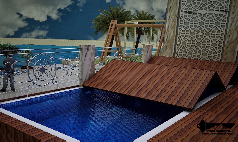 Swimming Pool Cover Khiran Kuwait