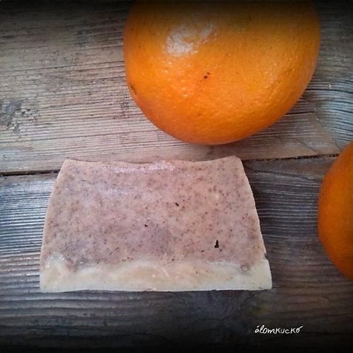Narancsos - fahéjas szappan zabtejjel és szőlőmag olajjal