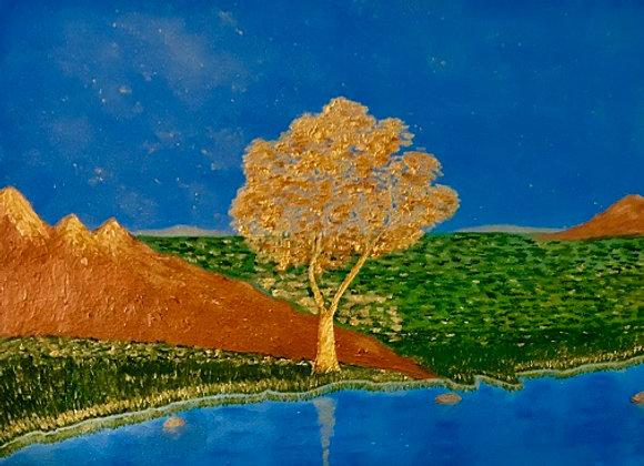 Echoes of Gold Rush. Sacramento River CA