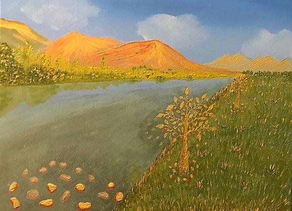 Echoes of Gold Rush, Klondike River, Canada