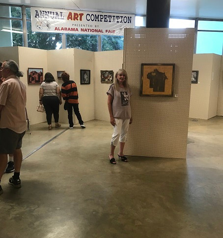10/03/19 Opening Reception at the Montgomery AL Art Guild