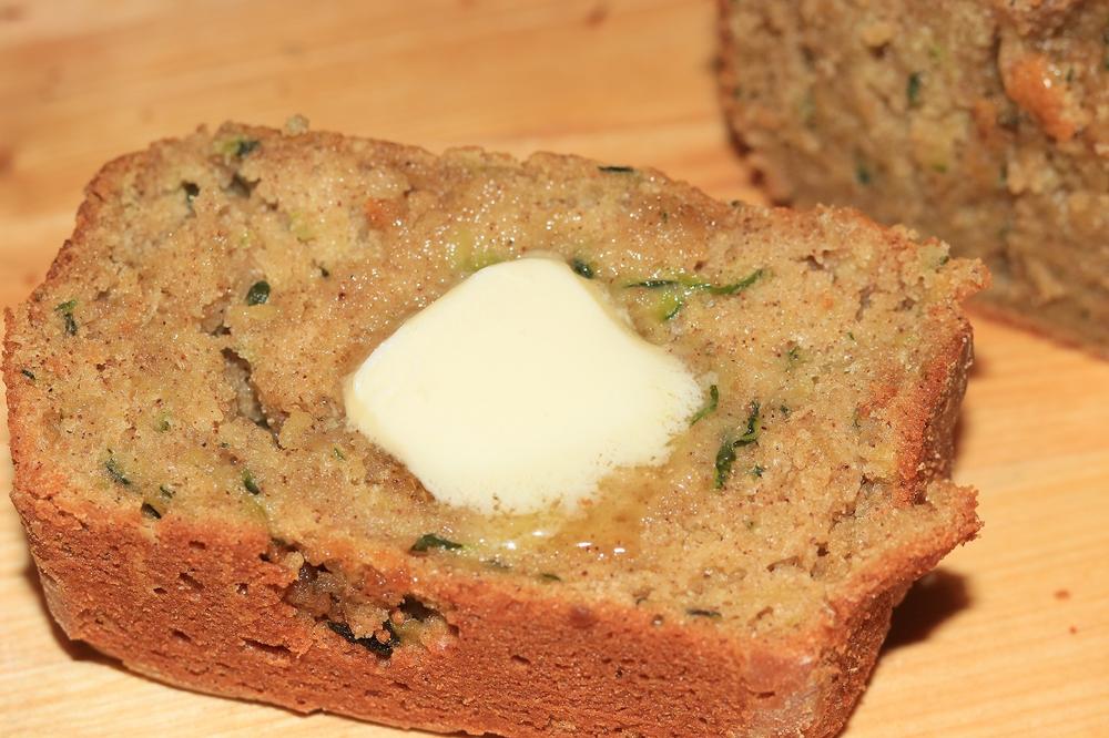 amazingly moist zucchini bread recipe 1