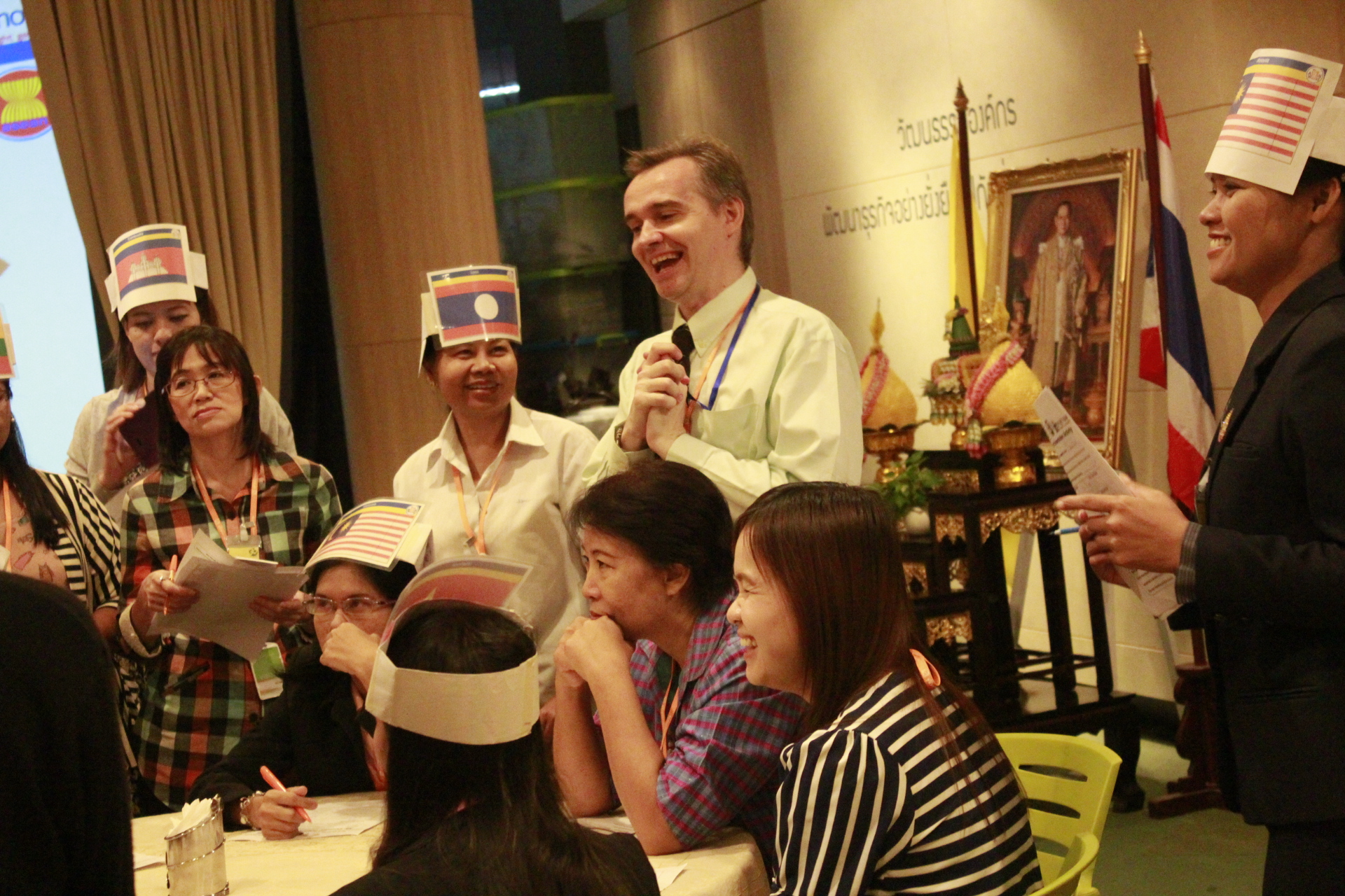 การอบรมครูภาษาอังกฤษชาวไทย