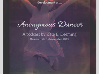 Anonymous Dancer Podcast Begins!!!
