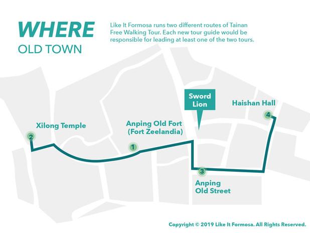 Tainan Free Walking Tour / Old town