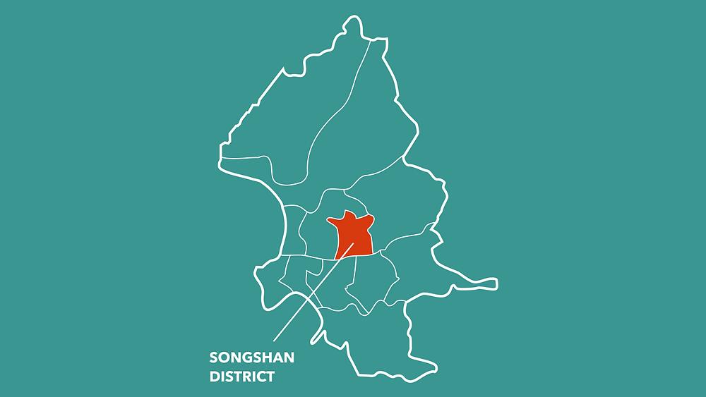Songshan District of Taipei City by Like It Formosa - Taipei Free Walking Tour