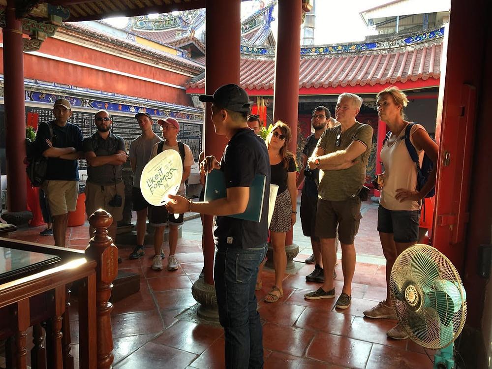 Tainan Free Walking Tour 台南免費英語步行導覽景點:台南大天后宮