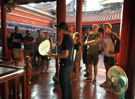 勇敢跨出——成為獨當一面的導覽員 台南導覽員 Michael
