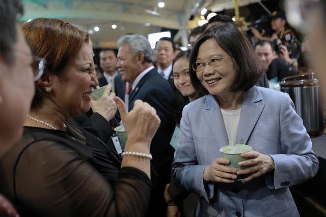 台灣之光,珍珠奶茶,翰林茶坊國宴珍奶