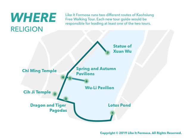 Kaohsiung Free Walking Tour / Religion
