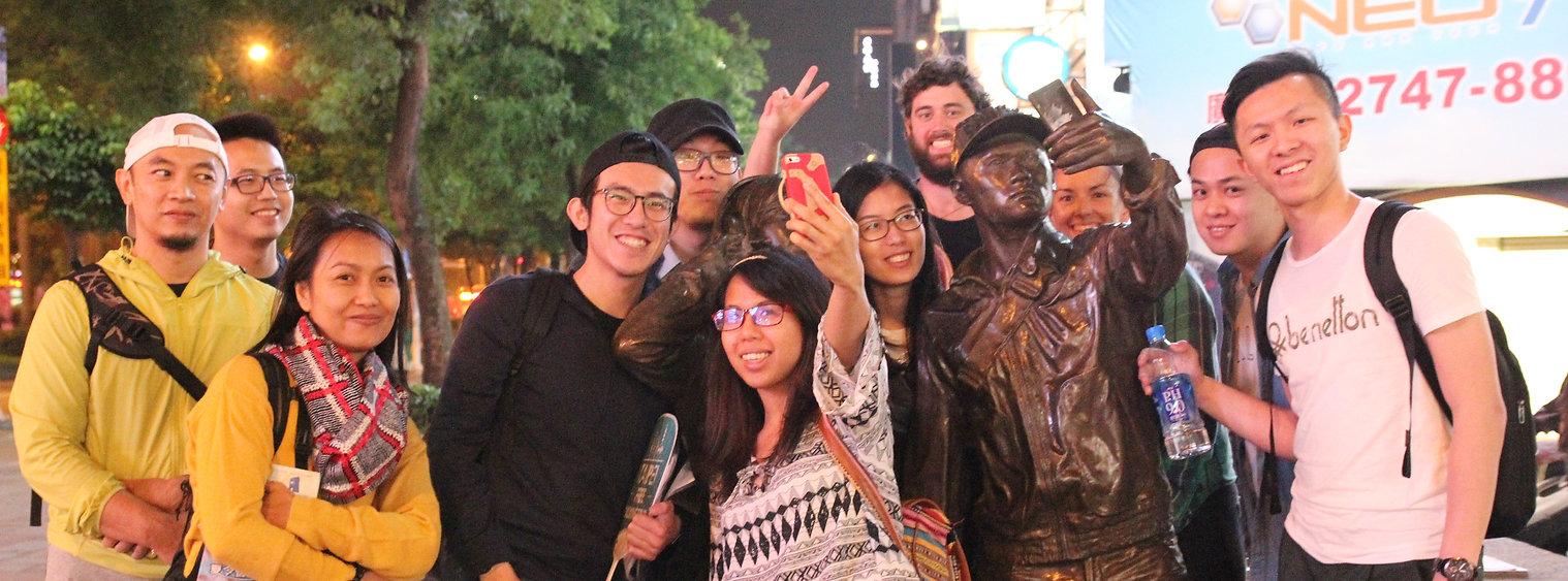 free walking tour taipei