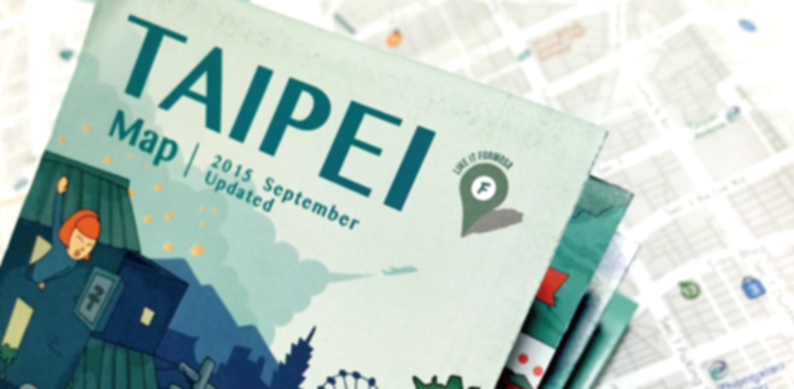taipei free map