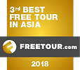 Like It Formosa is the 3rd Best Free Tour in Asia awarded by Freetour.com