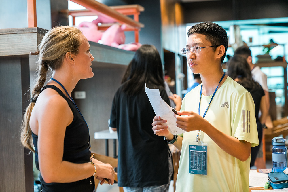 2019青年外交官英語導覽夏令營大稻埕篇第二梯次丨外師一對一英語會話課程