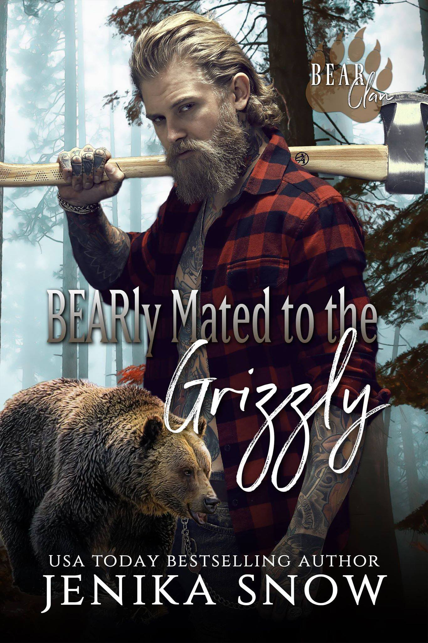 BEARLY MATED TO THE GRIZZLY