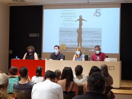 La Muixeranga de la Plana estrena un documental pel 5é aniversari