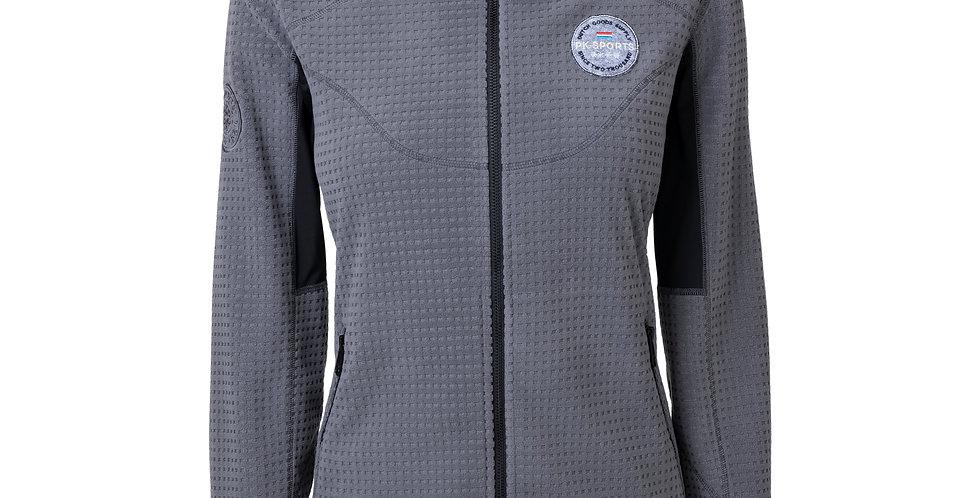 Fleece Vest Cascos Grey Melange
