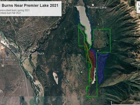 PRESCRIBED BURN PLANNED FOR SPRING 2021 NEAR PREMIER LAKE, BC