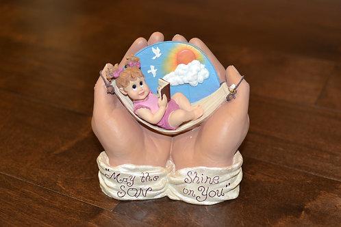 In God's Hands - Figurine