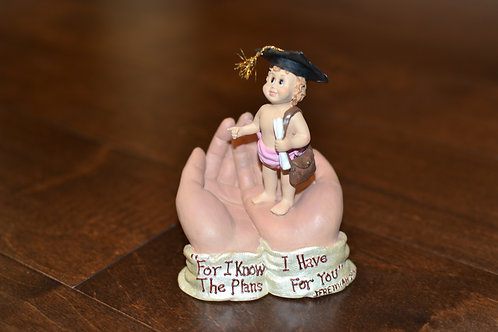 In God's Hands - Small Figurine