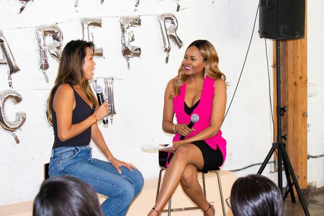 Moderated Panel, Interviewed Fashion Designer Tina Lee