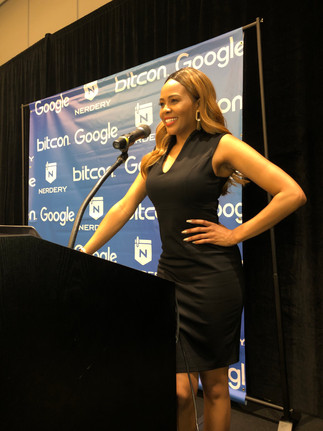 Hosting at Tech Conference