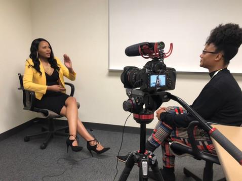 Interviewed by Minnesota Public Radio