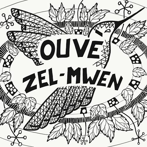 """Mandala """"Ouvè Zèl-Mwen"""""""
