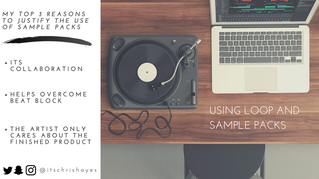 Should You Use Loops and Samples In Beats? Why I Don't See