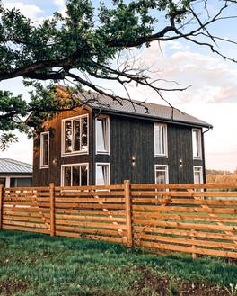 """Поселок """"Приежавоти"""" - Двухэтажный дом."""
