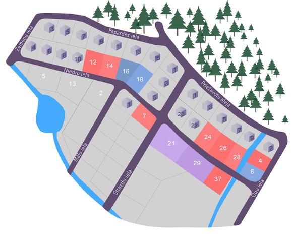 zemes plānojums