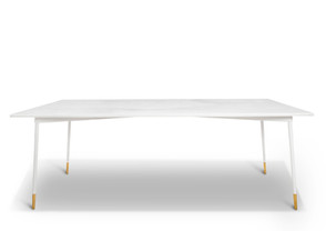 MIDNIGHT WHITE DINING TABLE
