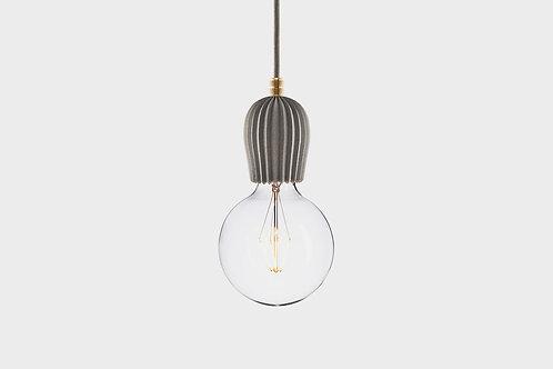 Concrete lamp RIB Grey