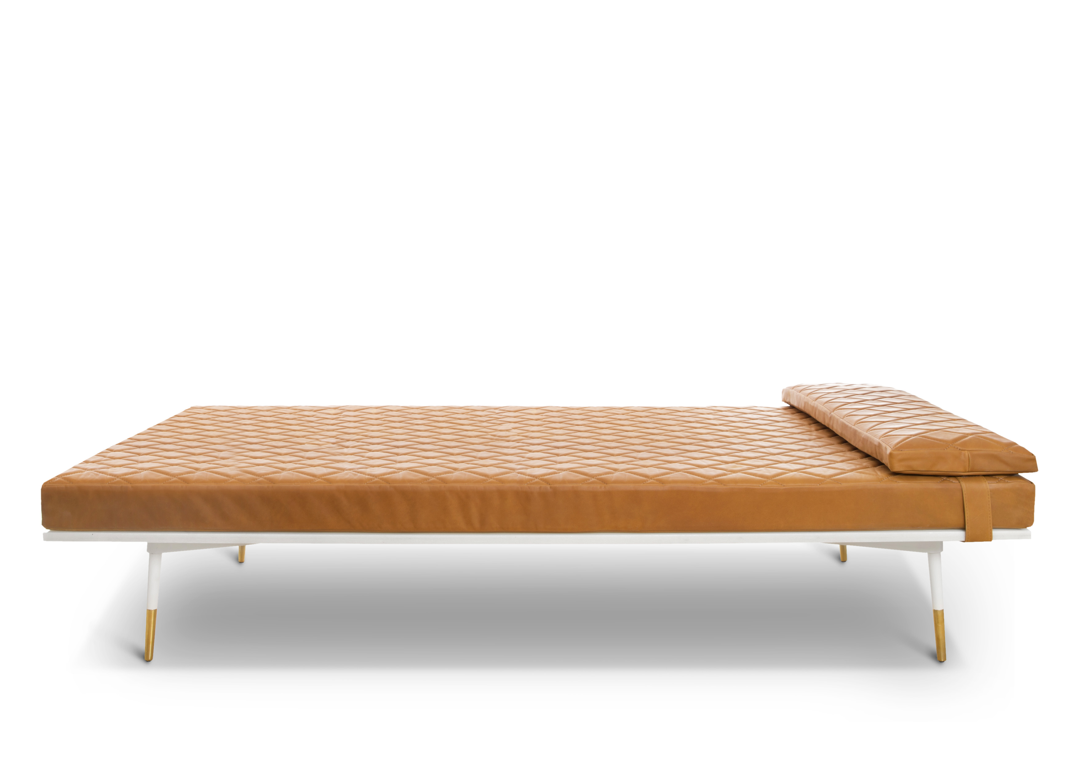MIDNIGHT COGNAC DAYBED