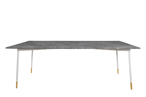 Midnight Dining Table WHITE/GREY
