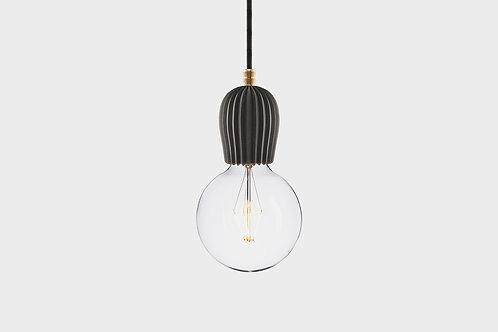 Concrete lamp RIB Black