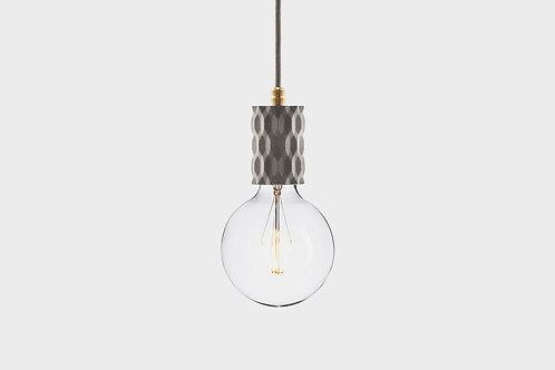 Concrete lamp GLITTER