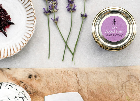 Plum and Lavender Honey Jam