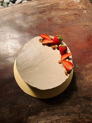 Chocolate Hazelnut Cake with Espresso Buttercream